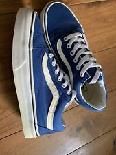 Womens Vans Trainers Size 5 Uk Blue