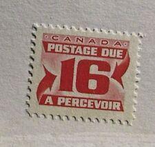 CANADA BOB #J37 ** MNH, Fine + , 16¢ Postage Due