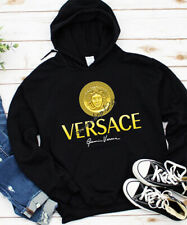 Hot Versace with Signature unisex Hooded Sweatshirt.