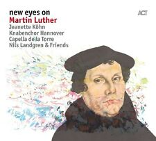 N./KÖHN,J./LINDGREN,M./+ LANDGREN - NEW EYES ON MARTIN LUTHER   CD NEU
