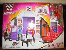 WWE SUPERSTARS WOMANS WRESTLING ULTIMATE ENTRANCE PLAYSET STAGE BACKSTAGE BELLA