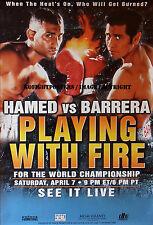 Prince Naseem Hamed vs. marco Antonio Barrera/Original PPV Boxeo Lucha Cartel