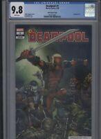 Deadpool #1 CGC 9.8 - David Finch VARIANT COVER 2020