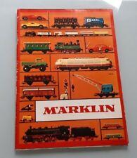CATALOGUE MARKLIN 1972 - TRAIN ELECTRIQUE HO 1/87