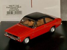 FORD ESCORT MK2 LHD 1300 GHIA SUNSET RED TROFEU 1002 R 1:43