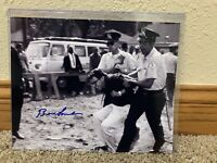 Bernie Sanders Signed Autographed 8x10 Photograph Arrest Protest Chicago
