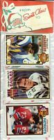 1979 Topps Football Holiday Christmas Rack Pack HOF Newsome Shell Campbell RC?**