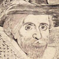 Portrait XVIIe James VI and I Jacques Stuart Jacques VI  Seumas VI Stiùbhairt