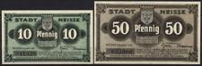 [8688] - 2 x NG NEISSE/Nysa, Stadt 1918, Tieste 4795.05.15.2 + 16.2 - selten! -