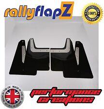 rallyflapZ SUBARU FORESTER STi (04-08) 2nd Gen Mud Flaps Black Plain 4mm PVC