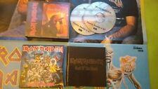 LOT 18 CD Hard Rock + 5 VHS+ 2 K7...  IRON MAIDEN, Bruce Dickinson, NWOBHM...