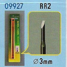 CISEAU A BOIS RR2 (Diam. 3 mm) pour modélisme - TRUMPETER n° 9927