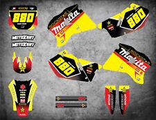 Full Custom Graphic Kit PODIUM STYLE SUZUKI RM 250 1996 - 1998 stickers decals