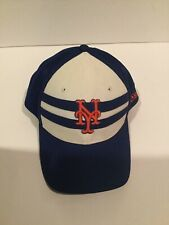 New York Mets Hat Cap Fitted Size Small Medium Blue White Orange