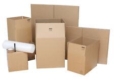 House Moving Boxes - Starter Pack: 10 Boxes, Bubblewrap, Tape & Pen
