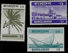 1974  BANGLADESH TOP VALUES TAKA CURRENCY EXPRESSED IN BENGALI MINT STAMPS