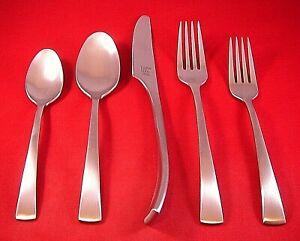 Salad Forks Two Each Knives Dinner Forks JA Henckels Synergy Pattern Flatware