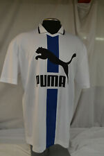 New Puma Xtg Polo Shirt Jersey Fashion Tee Mens White Athletic Top