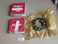 LOT OF 2 NEW IN BOX SKF RADIAL/ DEEP GROOVE BALL BEARING 6212J