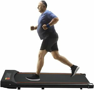 Under Desk Treadmill Portable Electric Treadmill Flat Slim Walking Pad Jogging