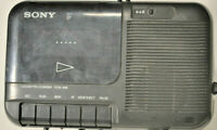 Sony TCM-818 Portable Cassette Recorder & Player with Power Cord Tested & Works