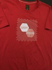 "Vintage Louis Feraud Designer T-Shirt Men Size 2XL Red ""Perfect Condition"""