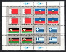 UNITED NATIONS  STAMPS SOUVENIR SHEET MINT NEVER HINGED LOT 4486