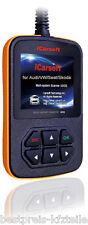 iCarsoft i908 VAG Diagnosegerät Passat B3 95i B4 B5 B6 B7 NMS CC VR6 Golf VW UVM