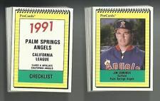 1991 Palm Springs Angels Set w/ J.R. Phillips & Jim Edmonds