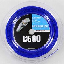 Hot sale BG80 badminton string ,200m/reel----BLUE