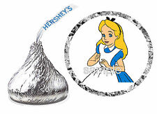 216 ALICE IN WONDERLAND BIRTHDAY PARTY FAVORS HERSHEY KISS LABELS