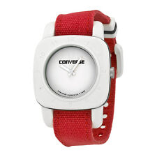 Converse White Dial Red Canvas Unisex Watch VR-021-650