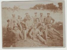 PC WWI Germany German 17 Artillery Regiment Soldiers Group Photo Cannon Shell