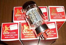 Matched Sextet (6 tubes) Genalex Gold Lion KT88 tubes, Reissue, NEW