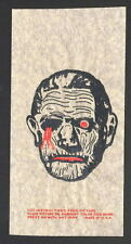 Vintage Universal Monsters The MUMMY T-Shirt TRANSFER UNUSED w INSTRUCTIONS