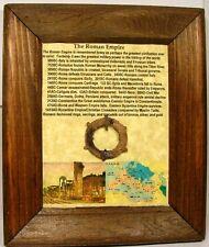 Ancient Roman Celtic Thrace (Bulgaria) Bronze Jewelry Plaque Bronze Brooch AD200