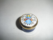 Crummles Rochard Enamel Box Eight Maids A Milking