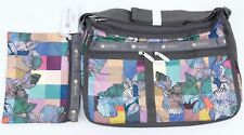 LeSportsac 7507 Deluxe Everyday Bag FLORAL FLAIR Print - NEW w/ Tags