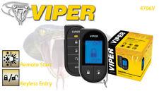 Viper Responder LC3 4706V 2 Way LCD Vehicle Car Remote Start System 4706VB 4706