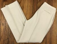 Chaiken Women's Career Dress Pants Made in USA Size 2 Actual W26.5 L27 Beige