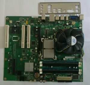 Intel DP35DP motherboard with 2.3GHz Intel Core 2 Duo CPU + 4GB DDR2 800 RAM
