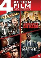 The A-Team/A Good Day to Die Hard/Unstoppable/Man on Fire (Dvd, 2014, 4-Disc Set