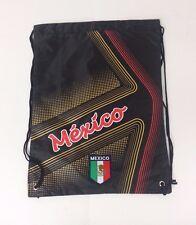 Mexico Cinch Bag Color Black Official Licensed Product  NWOT