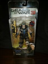 Gears of War 3  NECA Action Figure Damon Baird Gold Lancer