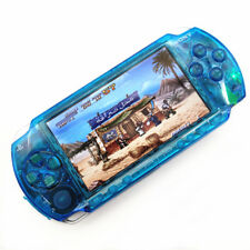 Refurbished Clear Blue Sony PSP-1000 Handheld System Game Console System