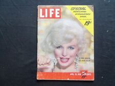1959 APRIL 20 LIFE MAGAZINE- MARILYN MONROE-SPECIAL 19 CENT COVER PRICE - L 1152