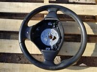 BMW E36 M3 Z3 STEERING WHEEL oem 328 325 318 323 Leather 3 SPOKE Single Stage