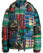 Polo Ralph Lauren Bear Downhill Suicide Skier Patchwork Beacon Camo Jacket-XXL