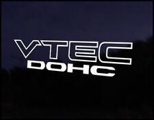 Honda Vtec Dohc Civic Crx Eg Ek Sir Vti Vinilo Gráfica Autoadhesiva De