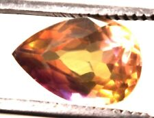 7.30 Cts. Natural Bi-Color Bolivia Ametine Earth Mined Certified Gemstone